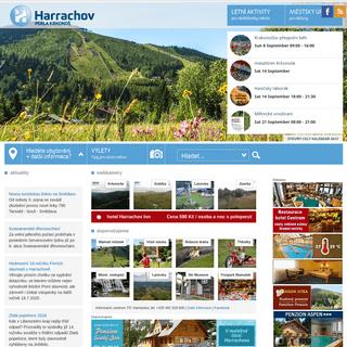 Harrachov – Krkonoše, lyžování, turistika, cyklistika, wellness, hotel, pension