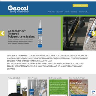Geocel - Setting the Standard