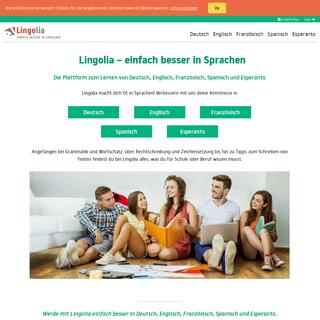 Lingolia – einfach besser in Sprachen