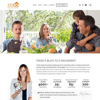 ArchiveBay.com - zerowastehome.com - Home - Zero Waste Home