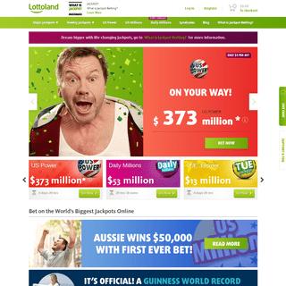 Bet on Lottoland Jackpots Online