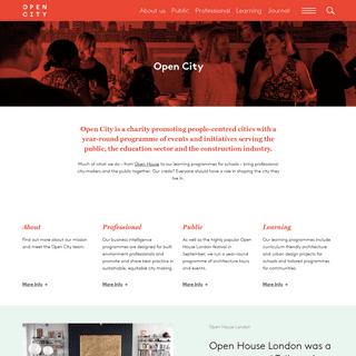 Open City - London's architecture education organisation » Open City