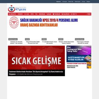 Acil Tıp Teknisyeni ve Paramedik Platformu - ATTYİZ.BİZ.TR