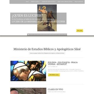 Apologetica Siloe - Grupo Catolico de Frank Morera