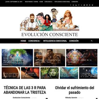 Evolución consciente - Web de Conciencia