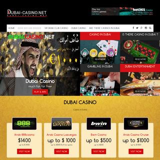 Dubai Casino - Online Gambling Sites - Dubai-casino.net