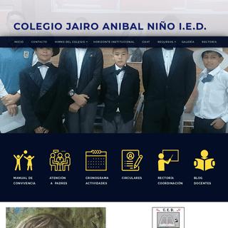 Colegio Jairo Anibal Niño CED - COLEGIO JAIRO ANIBAL NIÑO CED