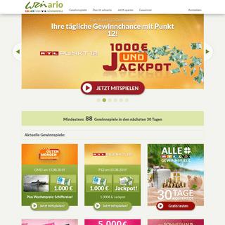 ArchiveBay.com - winario.de - Gewinnspiele von RTL und VOX - Jetzt mitspielen! - winario