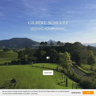 Gilbert Schultz - Welcome