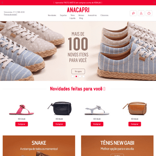 ArchiveBay.com - anacapri.com.br - Sapatos, bolsas e acessórios ANACAPRI