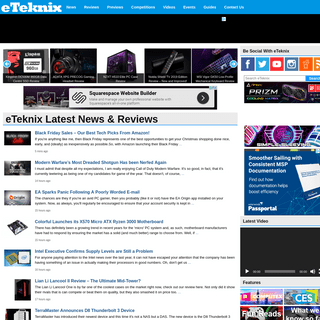 eTeknix - The Best Tech & Gaming News and Reviews!