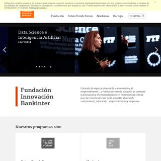 Fundación - Fundación Innovación Bankinter