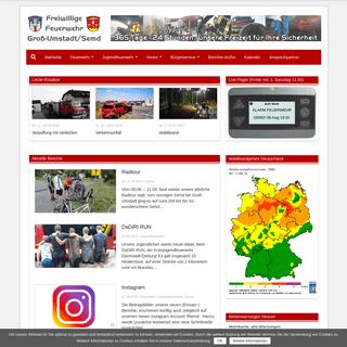 Feuerwehr Semd – Internetauftritt der Freiwilligen Feuerwehr Groß-Umstadt-Semd