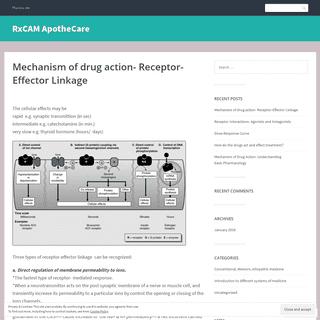 RxCAM ApotheCare – Pharma site