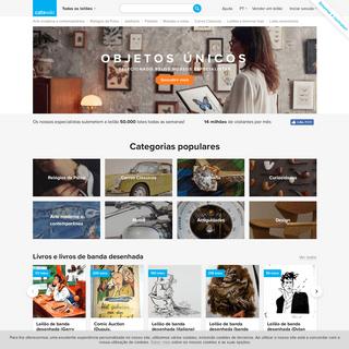 Leilões online de objetos especiais - Catawiki