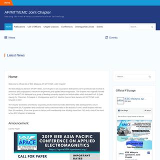 AP-MTT-EMC Joint Chapter – Shaping the next wireless communications technology