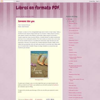 Libros en formato PDF.