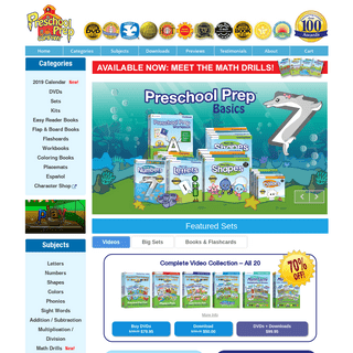 Preschool Prep Company - Educational DVDs, Books & Downloads