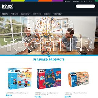 Creative Building Toys for Kids - K'NEX - www.knex.com