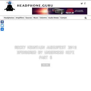 ArchiveBay.com - headphone.guru - Home Page - Headphone Guru