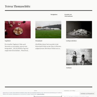 ArchiveBay.com - teresathomaschutz.wordpress.com - Teresa Thomaschütz