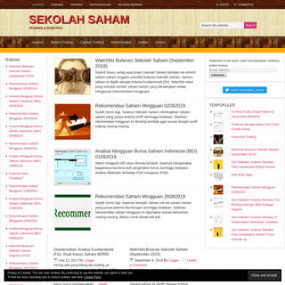 Sekolah Saham dot Com – Trading & Investasi
