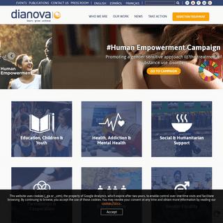 Dianova International - Learn, Grow, Achieve