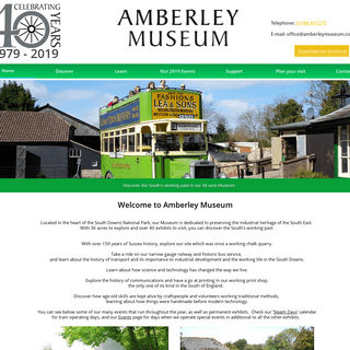 Amberley Museum - A West Sussex family attraction