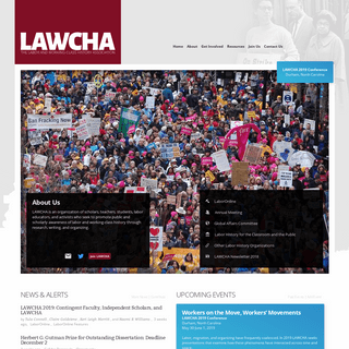 ArchiveBay.com - lawcha.org - LAWCHA – The Labor and Working-Class History Association