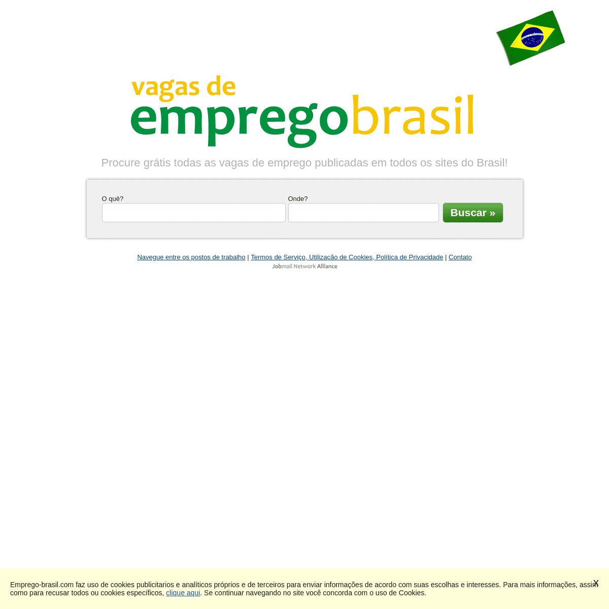 Vagas de Emprego - Emprego-brasil.com