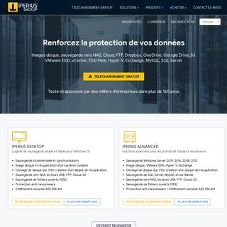 Iperius Backup - Logiciel de sauvegarde gratuit + Cloud-FTP, ESXi, SQL