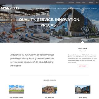 ArchiveBay.com - spancrete.com - Precast Concrete - Architectural Precast Solutions - Spancrete
