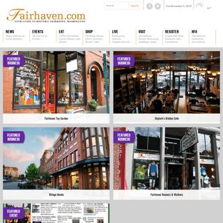 Your Guide To Historic Fairhaven - Fairhaven.com