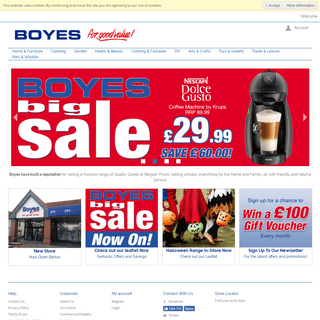 ArchiveBay.com - boyes.co.uk - BOYES - For Good Value!