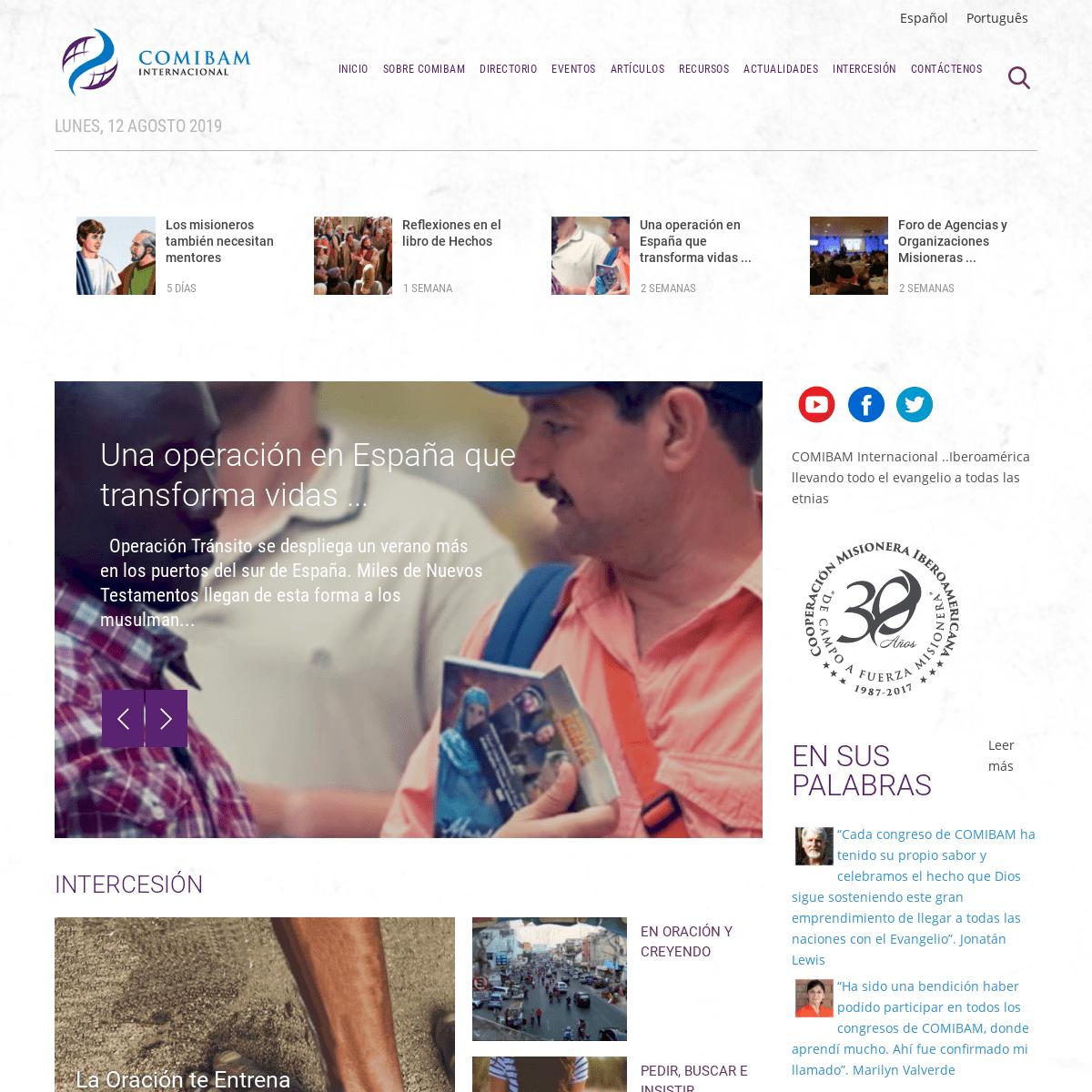 ArchiveBay.com - comibam.org - COMIBAM Internacional - Misión Transcultural - Etnias No Alcanzadas