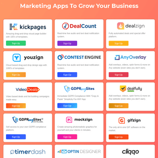 Apps For Marketers