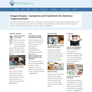 HealthPages.org - Anatomy, Surgery, Pregnancy, Nutrition, Fitness -