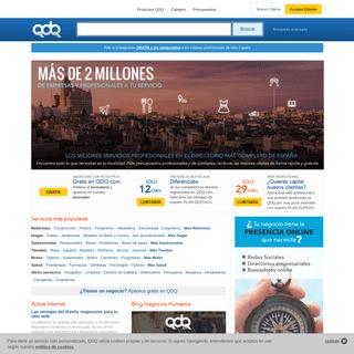 Directorio de Empresas - Guía Telefónica y Negocios de España - QDQ