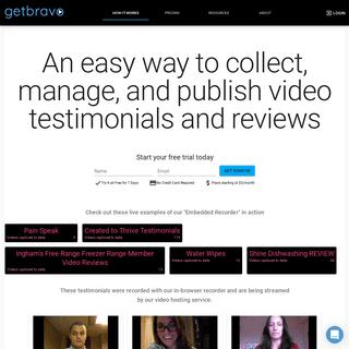 A complete backup of getbravo.com