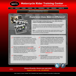 Motorcycle Rider Training Center - Motorcycle Safety Training Denver Colorado