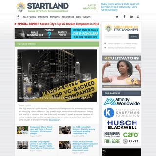 STARTLAND- Kansas City startup, entrepreneur & innovation news