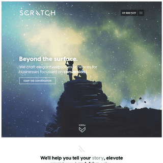 Scratch - Website design Auckland - Digital Agency in Ponsonby