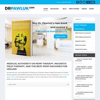 ArchiveBay.com - drpawluk.com - DrPawluk.com - PEMF - PEMF Therapy & Magnetic Field Therapy Expert