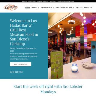 Mexican Restaurant San Diego - Las Hadas Bar and Grill