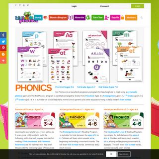 Phonics Activities, Learn to Read, for Preschool, Kindergarten, First Grade, 2nd Grade