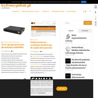 ArchiveBay.com - icyfrowypolsat.pl - icyfrowypolsat.pl – nie plotkujemy