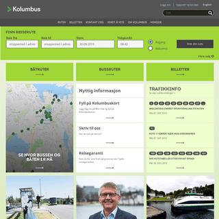 Kolumbus AS - kollektivtrafikk i Rogaland