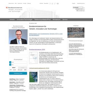 bmvit - Bundesministerium für Verkehr, Innovation und Technologie
