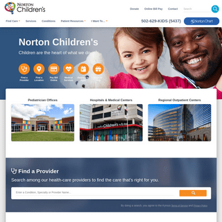Norton Children's - Pediatric care in Louisville, Ky. and Southern Indiana