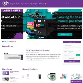 GJS - More Than Just Machinery- Digital Printing Solutions